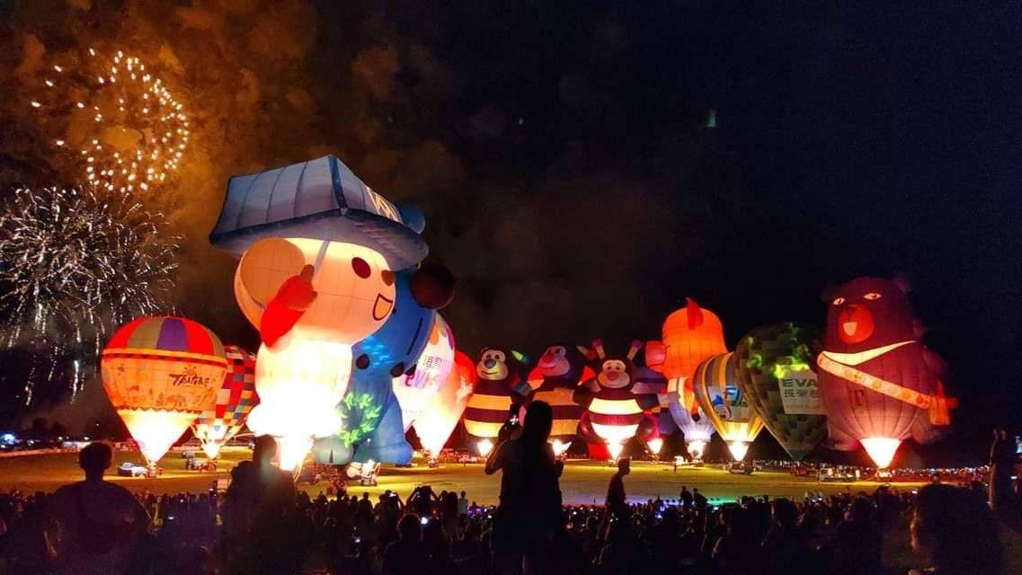 熱氣球嘉年華光雕秀