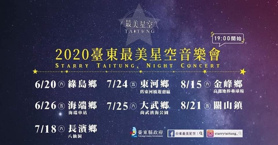 2020台東最美星空音樂會